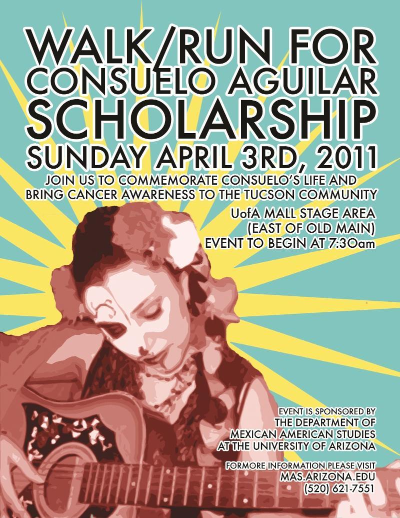 Consuelo Aguilar Scholarship run/walk