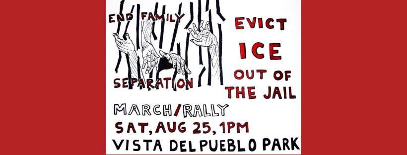 Coalición de Derechos Humanos | EVICT ICE : ICE out of Pima County Jail